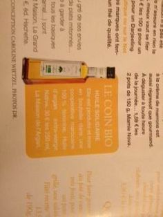LA MAISON DE L'ARGAN Culinary Argan oil - BIO/Organic & GPI - put at the limelight in Marie Claire this month. Gourmets & ethics are now the one and same. #arganoil  #marieclaire #culinary #gourmet #fairtrade