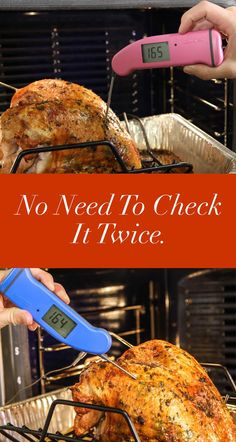 Unlike Santa. When you have a ThermoWorks Thermapen, you don't have to check it twice. See why the Thermapen is rated the #1 instant read cooking thermometer in the world.