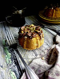 chocolate pumpkin mini bundts {gf}