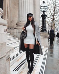Fashion 2019 New Moda Style - fashion Classy Winter Outfits, Cute Casual Outfits, Stylish Outfits, Classy Going Out Outfits, Date Night Outfit Classy, Amazing Outfits, Beautiful Outfits, Boujee Outfits, Winter Fashion Outfits