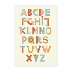 Image of A TO Z Print