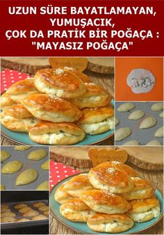 Unleavened Pastry - Yoghurt Pastry - A delicious pastry that is not stale for a long time, easy to make, without yeast - Delicious Donuts, Delicious Cake Recipes, Yummy Cakes, Donut Recipes, Pastry Recipes, Popular Recipes, New Recipes, Macaroons, Chorizo