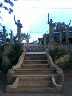 Liberties at the park of sariaya Classic Architecture, Liberty, Road Trip, Stairs, Park, Decor, Life, Classical Architecture, Political Freedom