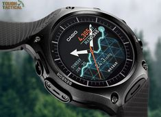The Casio WSD-F10 - The Toughest Smart Outdoor Watch.