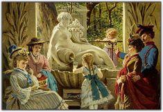 Anton Ebert (1845 - 1896) | Avusturyalı Ressam - Forum Gerçek