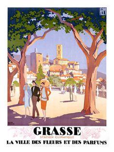 FRANCE - Grasse #Vintage #Travel