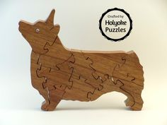 Pembroke Welsh Corgi Jigsaw Puzzle in Shedua