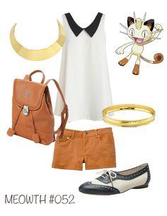 Pokemon Inspired Outfits by moi!  (http://pinterest.com/bangbang93)