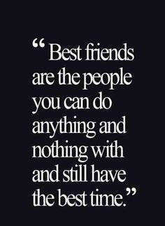 Let's celebrate our friendship with these Cute Friendship Quotes. Friends are the biggest gift of life, sometimes you think how might you have gone through so many things without your friends. So cherish Friendship and Read on: 18 Cute Friendship Quotes Cute Friendship Quotes, Friend Friendship, Bff Quotes, Cute Quotes, Quotes To Live By, Funny Quotes, Time With Friends Quotes, Cute Best Friend Quotes, Smile Quotes