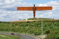English sculptor Antony Gormley, perhaps best known for the amazing Angel of the North sculpture in Gateshead, England.