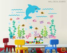 Hey, I found this really awesome Etsy listing at https://www.etsy.com/listing/171778782/under-the-sea-vinyl-stickers-dolphin-and