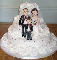 The Wilkins wedding cake