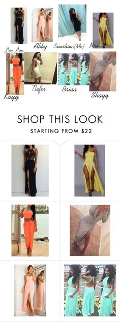 """Prom outfits for my squadd"" by summer-kbreezy on Polyvore"