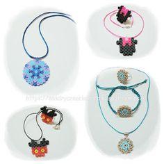 SanDryCreaciones: Complementos en Hama Beads Midi