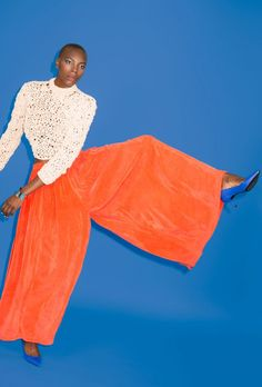 fashion editorial orange - Google Search