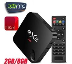 [Prime] MX 3 III 4K Quad Core Smart Internet WiFi TV Box Android 4.4 KitKat 2GB/8GB XBMC