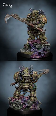 Typhus Herald of Nurgle  Manufacturer: Games Workshop  by Alexi Z