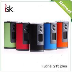 >> Click to Buy << New Arrival Original Sigelei Fuchai 213 Plus TC Box Mod Vape 213W 1V-7.5V Support Ni/Ti/SS/TCR/TFR Mode E Cigarettes Vaporizer #Affiliate