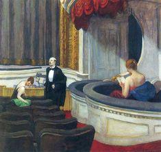 Two on the Aisle — Edward Hopper   biblioklept