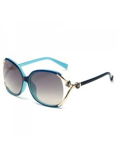 e320a497b5 Chic Flower Shape and Hollow Out Embellished Women s Sunglasses