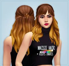 here is a hair i found while scrolling through tumblr its a ombre hair which i love so here is the DOWNLOAD: http://simfileshare.net/download/89374/ I DID NOT MAKE THIS HAIR HERE IS THE CREATORS TUMBLR WEBSITE http://crazycupcakefr.tumblr.com/post/146201347460/hello-everyone-i-am-back-with-some-new-hair-i