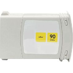 Remanufactured Replacement for HP 90 / C5065A High Yield Yellow Ink Cartridge