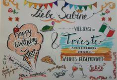 Arabic Calligraphy, Birthday, Art, Birthdays, Arabic Calligraphy Art, Kunst, Dirt Bike Birthday, Birth Day, Art Education