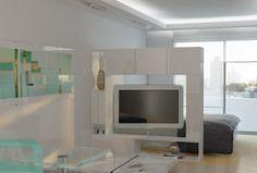 muebles divisor para tv giratorios - Buscar con Google