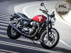 The Triumph Street Twin is Motorcyclist's bike of the year for 2016