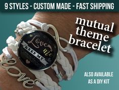 2019 LDS Young Women Bracelet - Mutual Theme - If Ye love Me Keep My Commandments - New Beginnings - YW - Temple and Chalk Style If Ye Love Me, My Love, Love Bracelets, New Beginnings, Lds, Young Women, Trending Outfits, Temple, Style