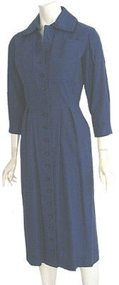 40s Vintage Dress Original Halvor McGrath Swing Bombshell Wiggle | eBay