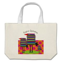 Retired Librarian Book Birds III Tote Bags http://www.zazzle.com/retired_librarian_book_birds_iii_tote_bags-149149119231416686?rf=238282136580680600*