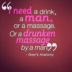 my back is killing me and stress has took over all my muscles ... hmmm must demand that massage
