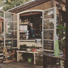Coffee Corner in Žižkov, Hlavní město Praha Coffee Corner, Store Fronts, Four Square, Espresso, Liquor Cabinet, Chill, Home Decor, Coffee Area, Espresso Coffee