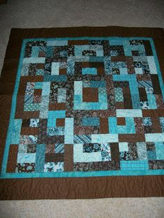 """Bento Box Pattern is another quilt using fat quarters or 2 1/2"""" strips.  It has 12 different designs that you can use.  Check out my blog and see what u think about this technique."""