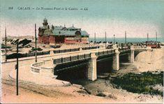 Calais, Antique Post Cards, Bridge