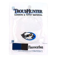 TroutHunter Fly Fishing Fluorocarbon Knotless Leader 9ft 3 Pack