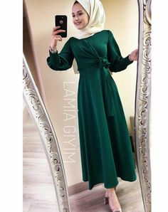 Modest Fashion Hijab, Modern Hijab Fashion, Muslim Women Fashion, Islamic Fashion, Abaya Fashion, Fashion Dresses, Hijab Evening Dress, Hijab Dress Party, Hijab Outfit