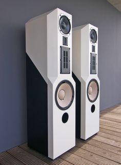 Lautsprecher ACR Isostatic RP300 Lack weiss/schwarz in TV, Video & Audio, Heim-Audio & HiFi, Lautsprecher & Subwoofer | eBay