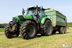 6180 TTV Traktoren im Einsatz