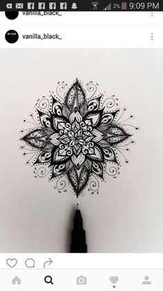 Beautiful - tattoo oberschenkel - Tattoo World Tattoos Motive, Elbow Tattoos, Body Art Tattoos, Small Tattoos, Sleeve Tattoos, Tattos, Mandala Tattoo Design, Mandala Arm Tattoo, Mandala Drawing