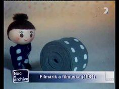 Filmárik a Filmuška - opening 1970 + 1981 Old Photos, Childhood Memories, Vintage Antiques, Nostalgia, Cartoons, Animation, Make It Yourself, Retro, Old Pictures
