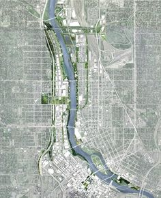 Minneapolis Riverfront Redesign Team Selected