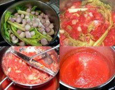 Kečup podle Odeda | Vaření jen tak Korn, Jaba, Guacamole, Pesto, Canning, Ethnic Recipes, Home Canning, Conservation