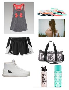 My Polyvore basketball gym outfit