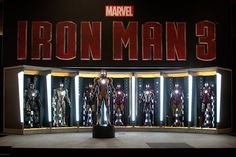Iron Man Hall of Armour