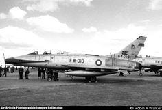 North American F-100F Super Sabre, 64019 / FW-019, Royal Danish Air Force