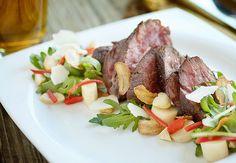 Pan Roasted Hanger Steak by Chris Santos