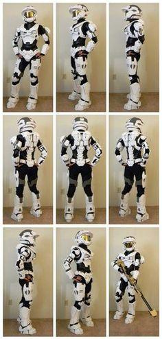 DIY - Halo Armor Suit | Funny Dumpster