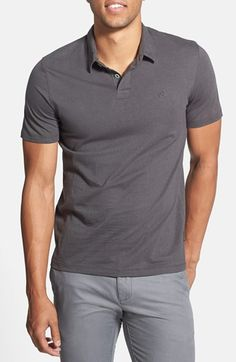 Volcom 'Wowzer' Jersey Polo available at #Nordstrom, $35